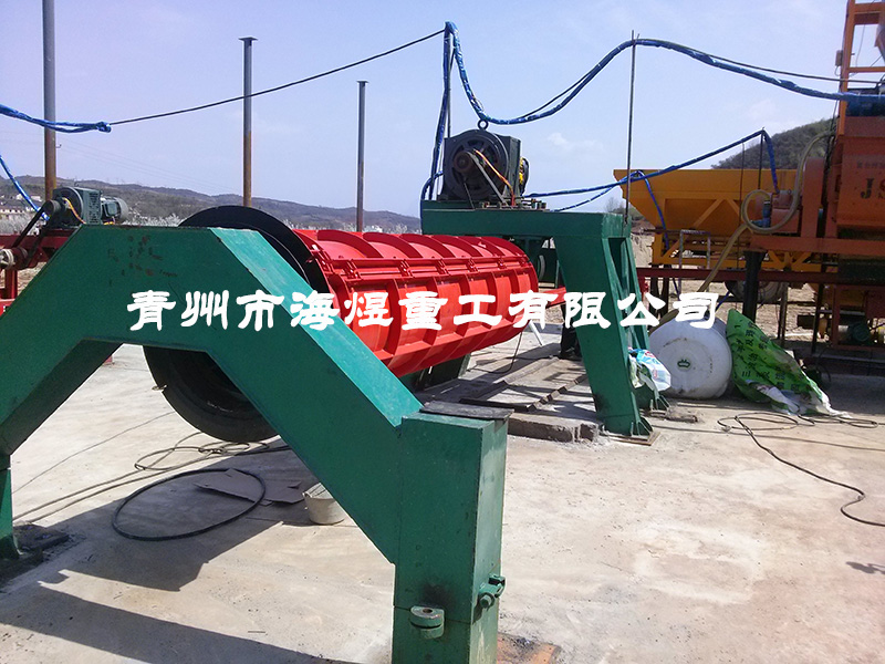 500-1000×3000悬辊式水泥制管机
