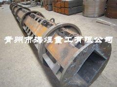 方形电杆模具 方杆钢模