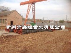 8米水泥井管模具