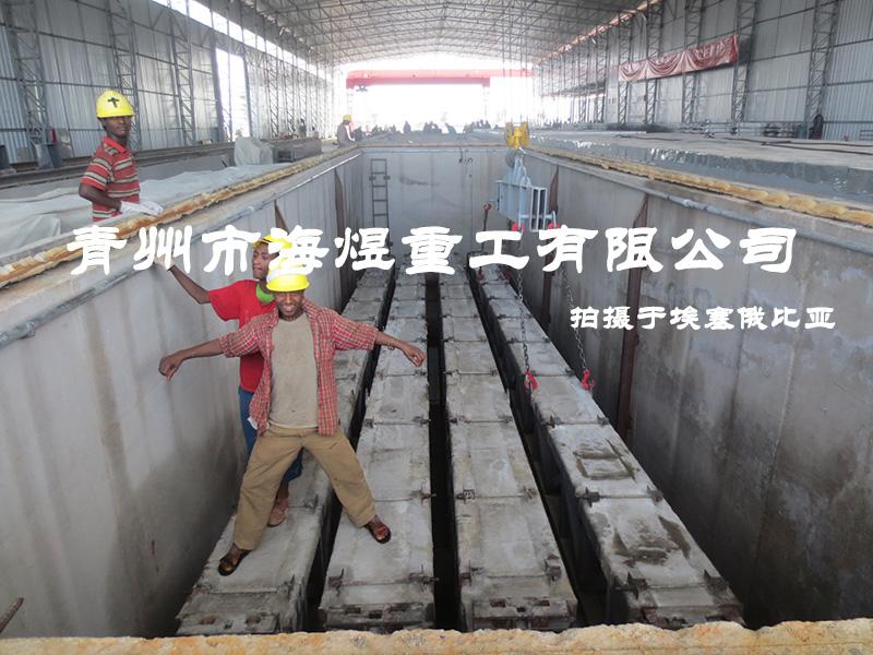 中铁二局新运公司埃塞俄比亚电气化支柱项目