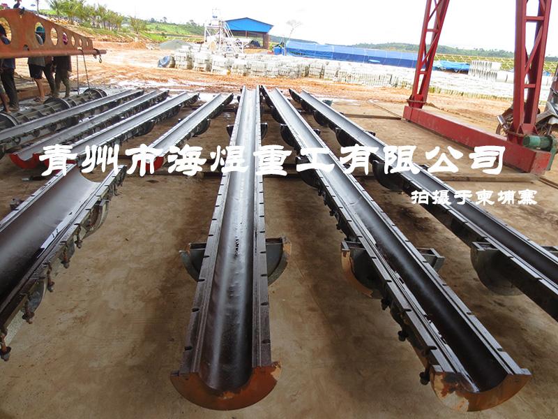 柬埔寨电杆生产线项目