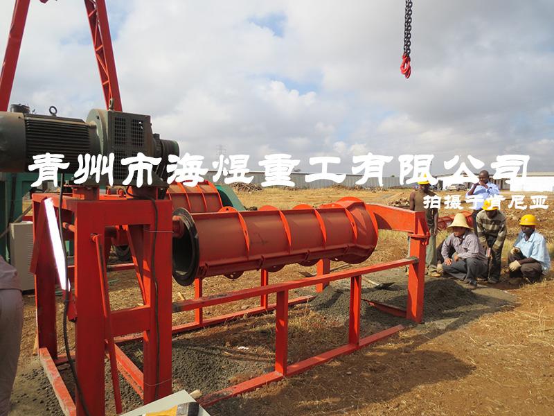 肯尼亚水泥制管生产线