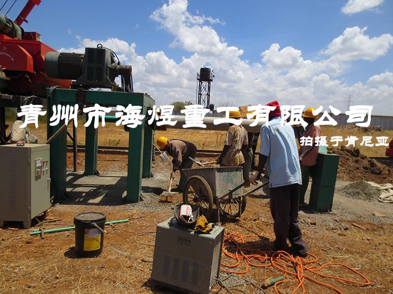 肯尼亚悬辊制管生产线