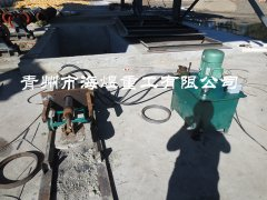 水泥井管涨拉机