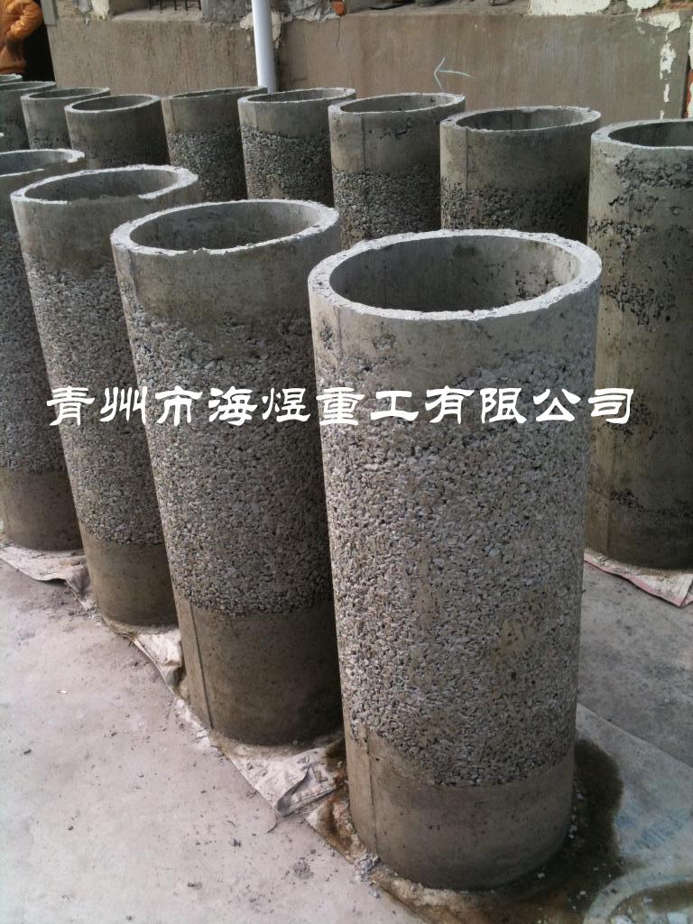 无砂混凝土井管