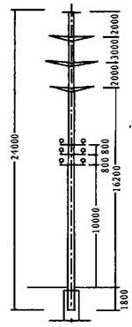 35KV带10KV,0.4KV同杆型图