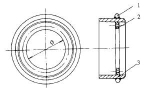 钢板圈简图