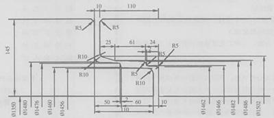 柔性企口管接口尺寸图