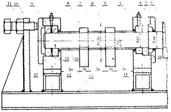 图2 振动装置简图