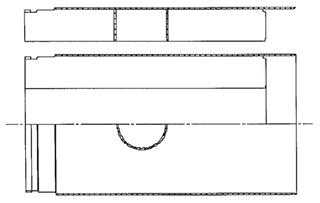 检查井管结构示意图