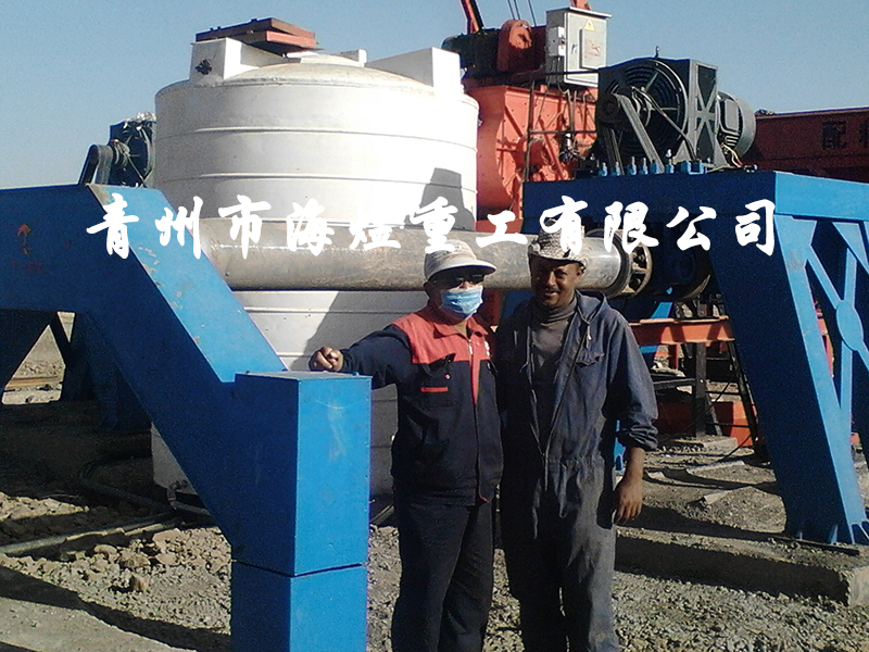 水泥制管机械