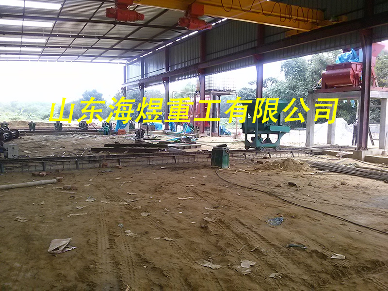 电杆生产厂区