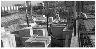 水泥管设备安装与土建施工的配合