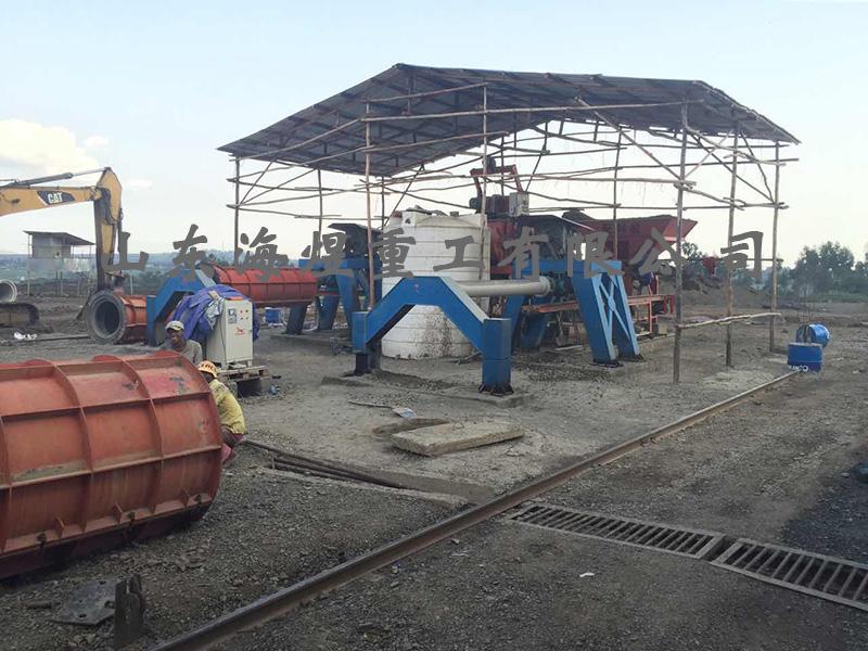水泥管设备的安装调试