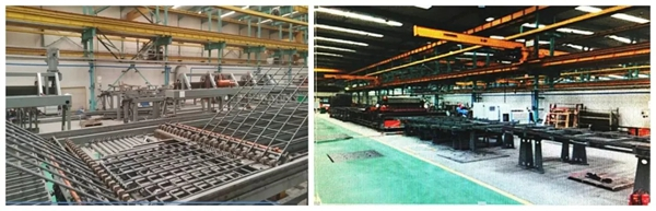 数控钢筋网焊接生产线