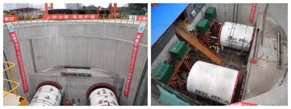 上海双根DN4000mm排污管顶管施工现场